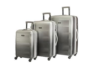 Amazon.com: diophy pacpro equipaje conjuntos brillante veliz ...