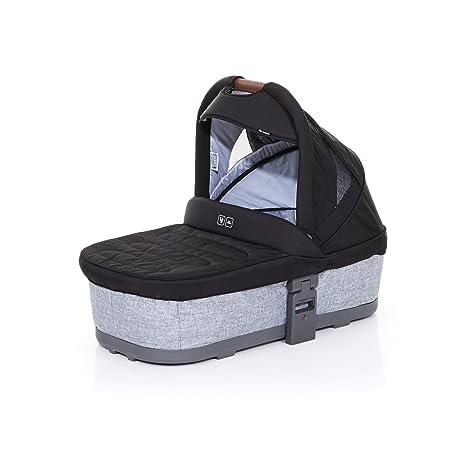ABC Design 9125300 Carrycot Plus capazo blanda para Cobra y Mamba, graphite grey/negro