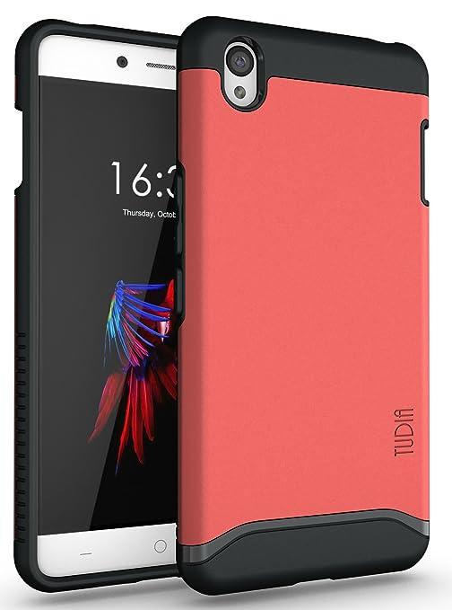 2 opinioni per OnePlus X Cover, Tudia Slim-Fit Merge doppio strato protezione cover per ONEPLUS