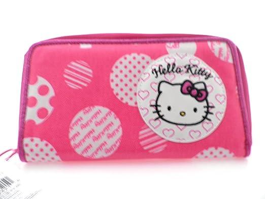 Hello Kitty tamaño grande tipo cartera bolsa de embrague pequeña: Amazon.es: Ropa y accesorios