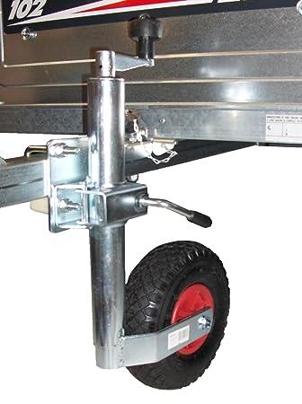 Remolque Caravana neumático rueda Jockey 48 mm y abrazadera de Split con Kit de montaje PT no. lmx1595: Amazon.es: Coche y moto