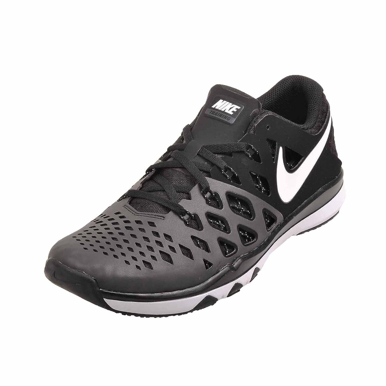 NIKE Men's Train Speed 4 Running Shoe B0745889BD 7.5 D(M) US|Black / White - Black