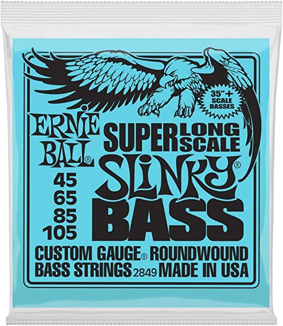 Ernie Ball P10845 .045 Slinky Flatwound Electric Bass String Single