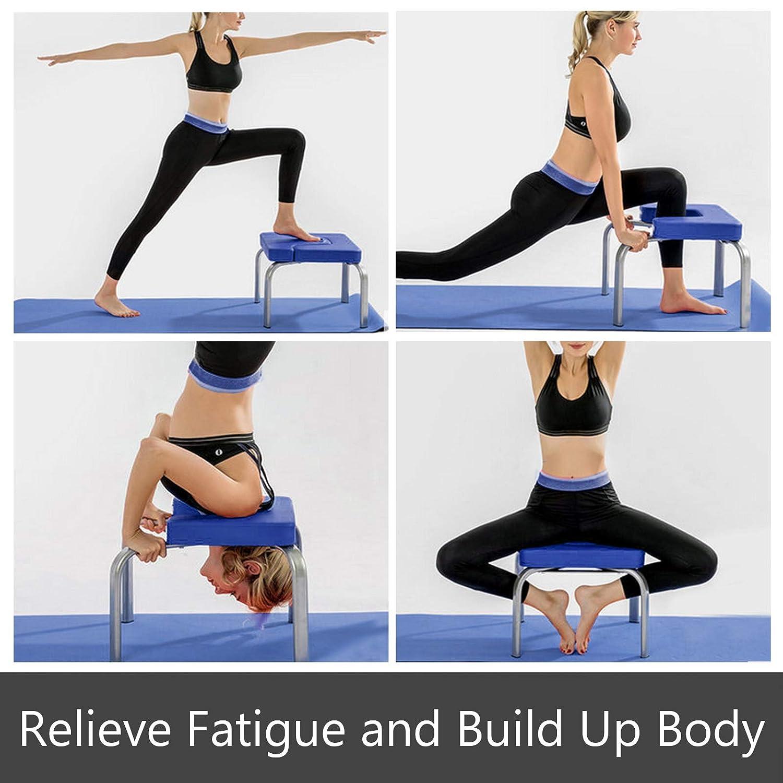 Amazon.com: Happybuy - Banco de yoga con reposacabezas ...