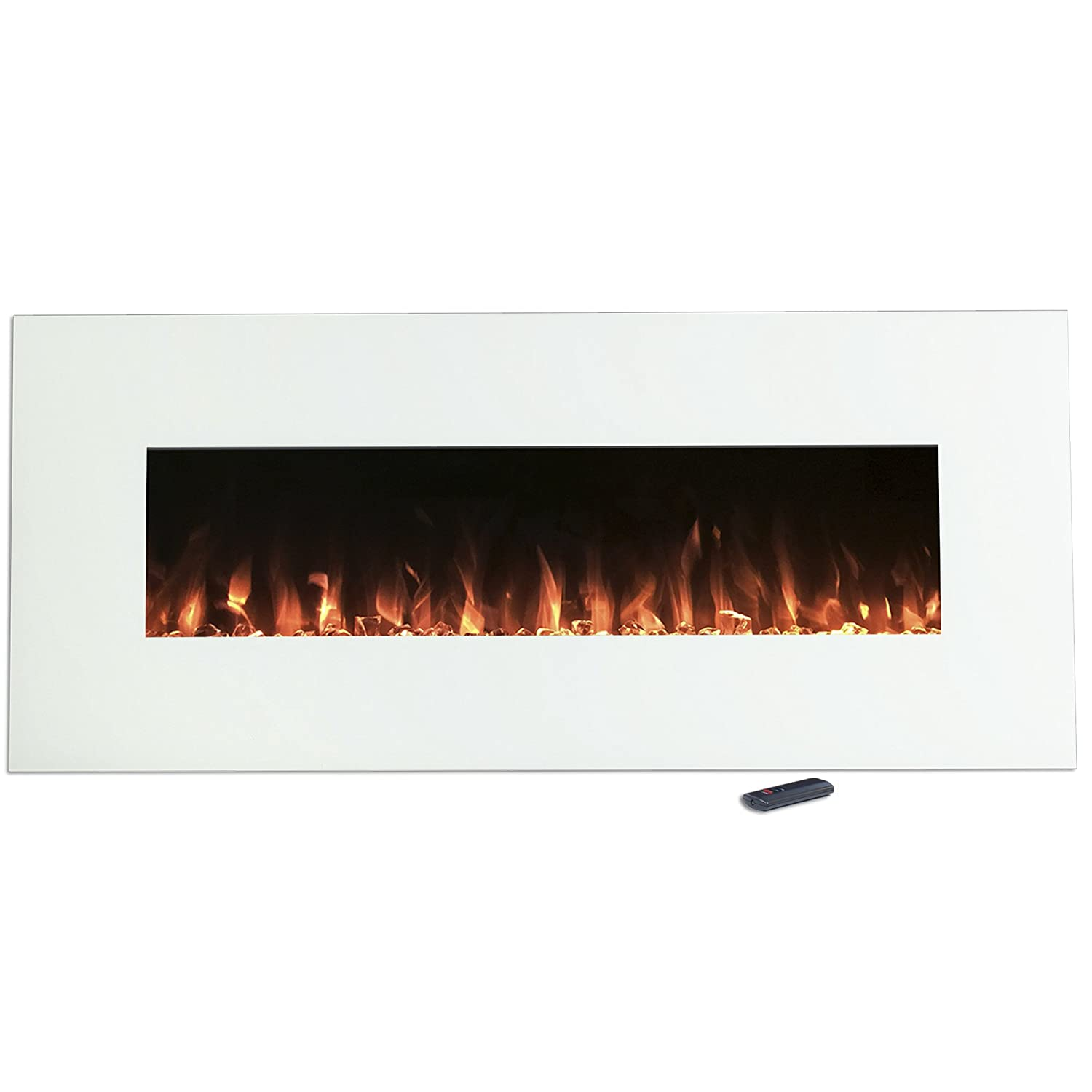 northwest 80 wsg02 white electric fireplace color changing wall
