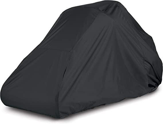 AmazonBasics Black Zero Turn Mower Cover - Small
