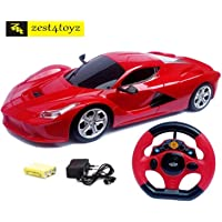 Zest 4 Toyz Steering Remote Control Racing Car (Assorted Design & Colors)