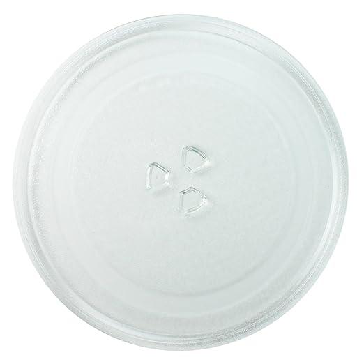 Spares2go cristal Tocadiscos placa para Bosch Horno de microondas ...