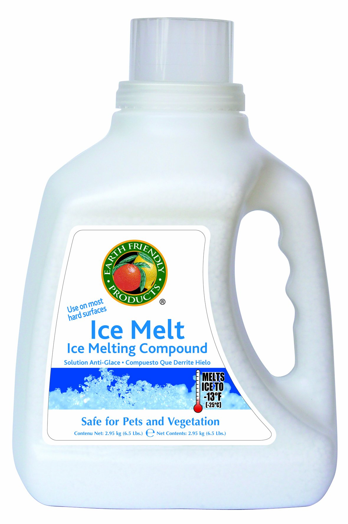 Earth Friendly Products Ice Melt (Ice Melting Compound), 6.5 lbs. Boxes (Pack of 4) by Earth Friendly Products