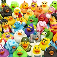 The Dreidel Company Assortment Rubber Duck Toy Duckies for Kids, Bath Birthday Gifts Baby Showers Classroom Incentives…