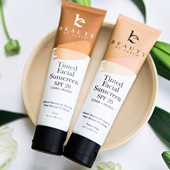 Beauty by Earth Tinted Facial Sunscreen