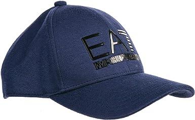 Emporio Armani EA7 Gorras Hombre Dark Blue: Amazon.es: Ropa y ...