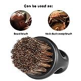 Anself Men's Beard Brush Barber Hair Sweep Brush