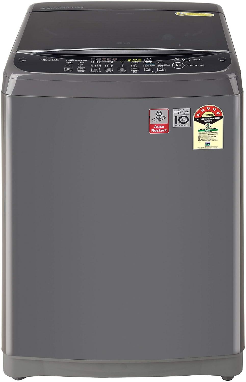 LG 8 Kg 5 Star Inverter Fully-Automatic Top Loading Washing Machine