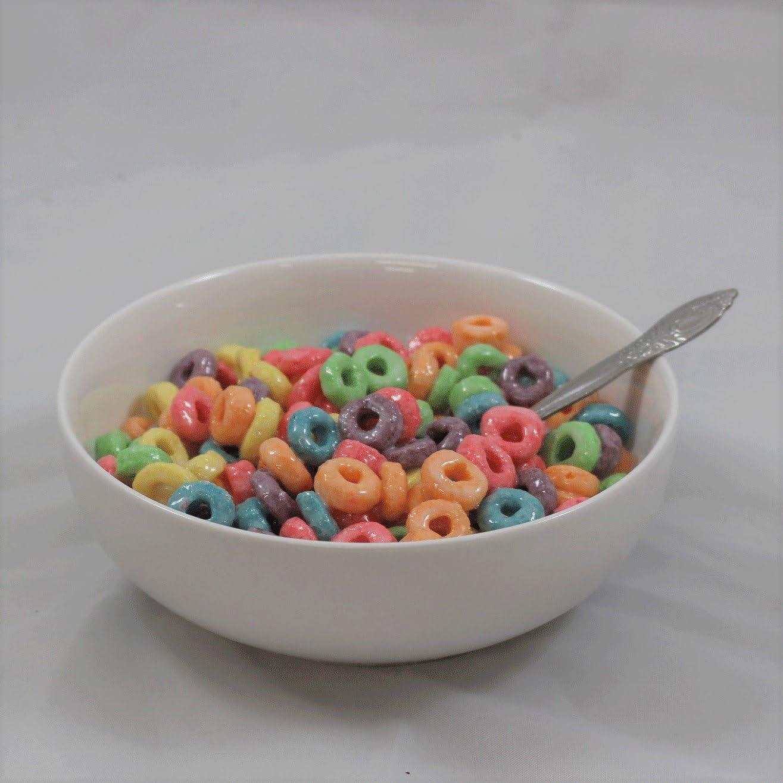 Just Dough It Fake Bowl of Fruit Loops