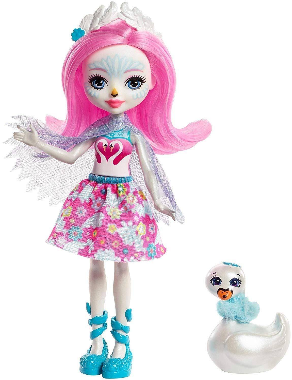 Schwanenm/ädchen Saffi Swan Puppe Enchantimals FRH38