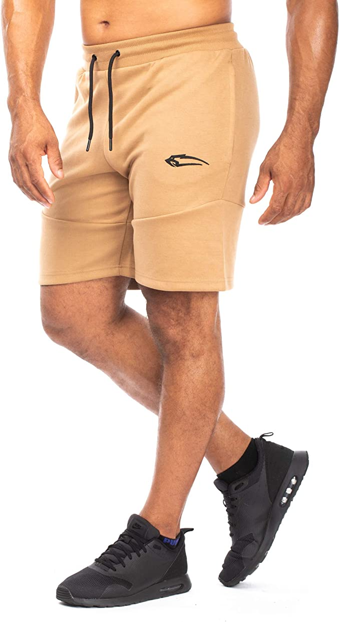 Smilodox Pantalones cortos para hombre, pantalones cortos para ...