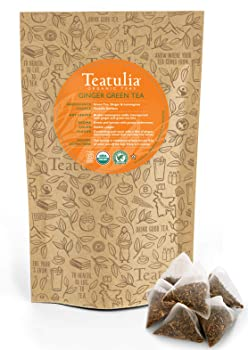 Teatulia Organic Ginger Green Tea