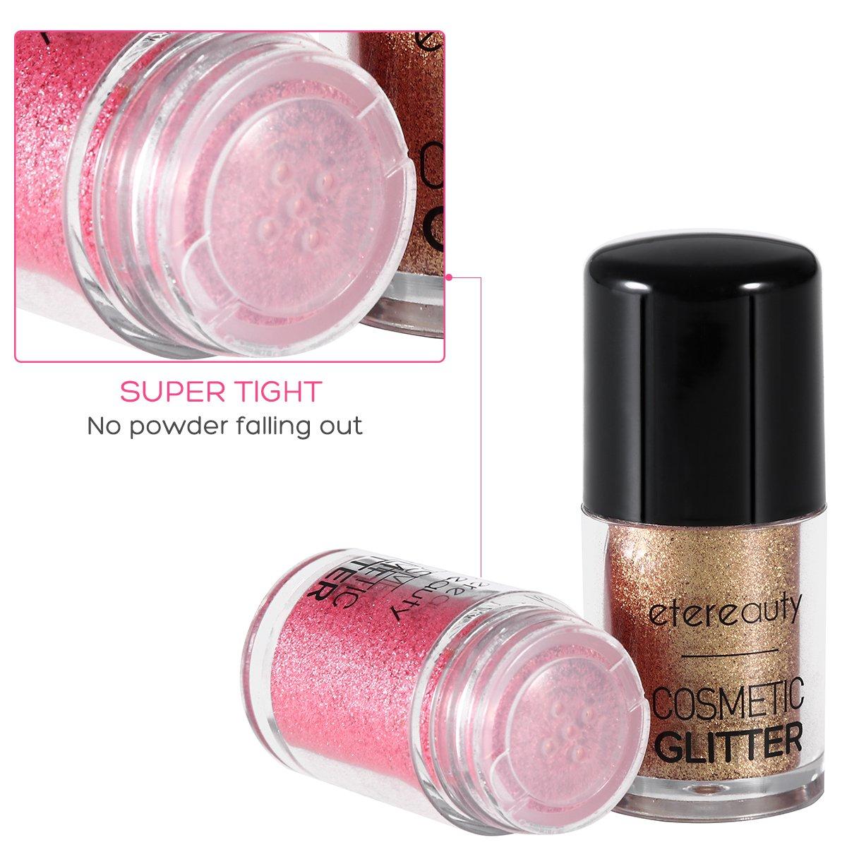Cosmetics Eye shadow powder 4 Colors Makeup Pro Glitter Eyeshadow