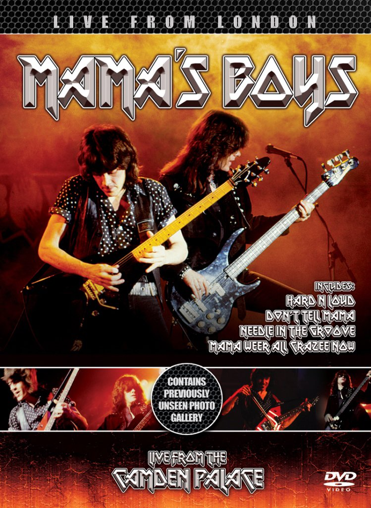 DVD : Mama's Boys - Live From The Camden Palace (Digipack Packaging)