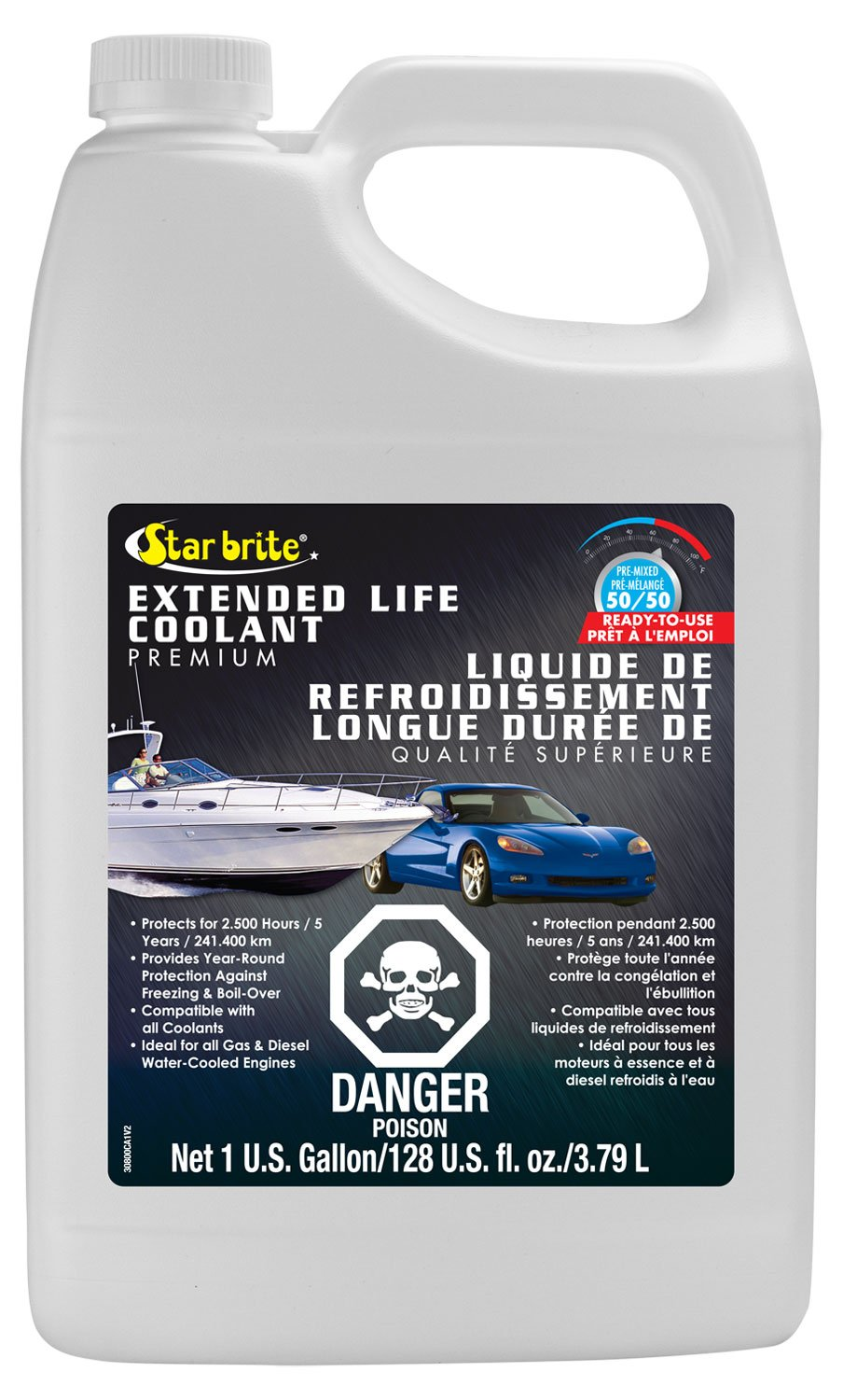 Star brite 030800C 150, 000 Mile Antifreeze Coolant-50/50 Ready-to-Use-3.78L Inc (CA)