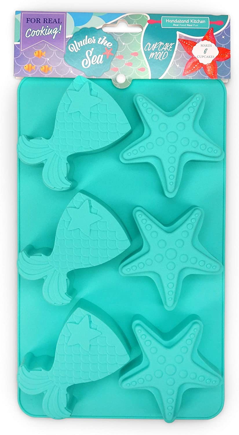Set of 9 Mermaid Tail and Star Crayons