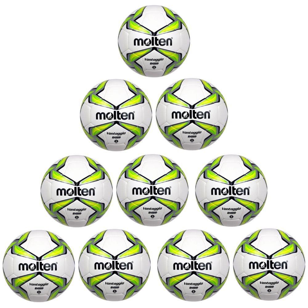 Fan Sport 24 Molten - Balón de fútbol f5 V3400 g Entrenamiento 10 ...