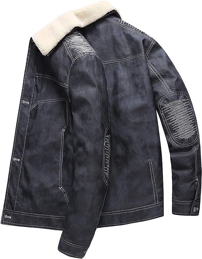メンズショートダウンジャケット、カジュアルデニムジャケット、秋と冬のメンズジャケット