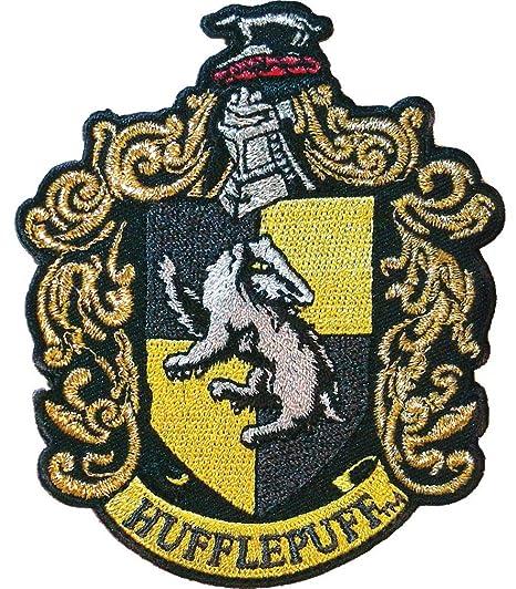 Amazoncom Ata Boy Harry Potter Hufflepuff Crest 3 Full Color Iron