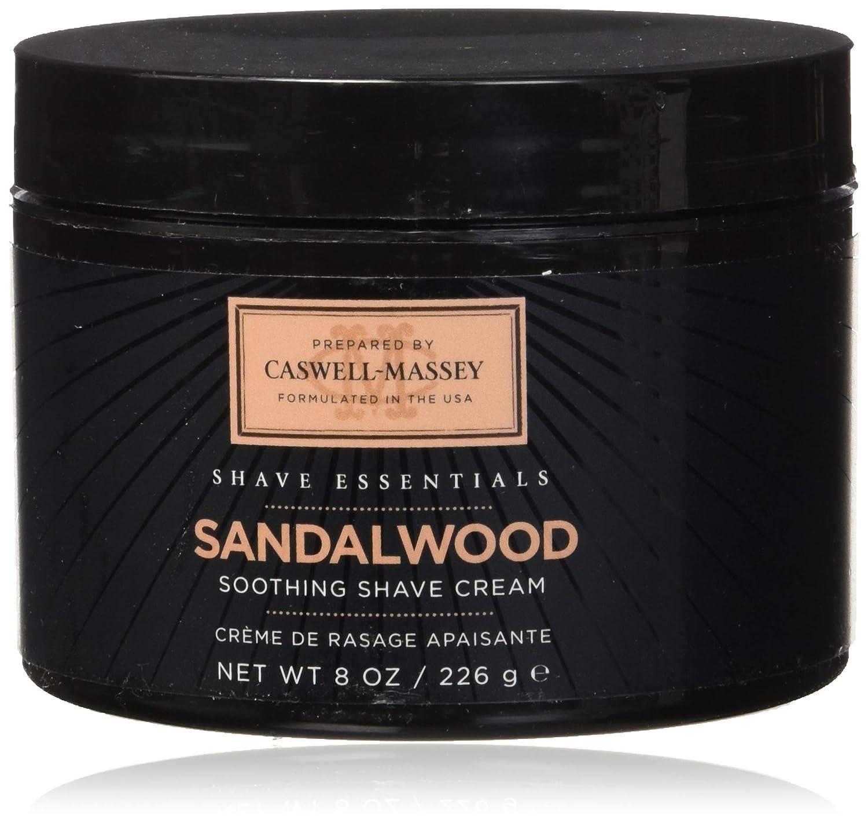 Caswell-Massey Sandalwood Shave Cream Jar, 8oz