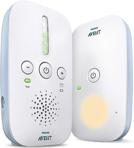 Philips AVENT Audio Monitors SCD506//01 vigila bebes Vigilabeb/és con tecnolog/ía DECT, 120 canales, 330 m, 50 m, White, Digital Vigilabeb/é