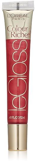 L'oréal Paris Colour Riche Le Gloss, Raspberry Splash, 0.4 Fl. Oz. by L'oreal Paris