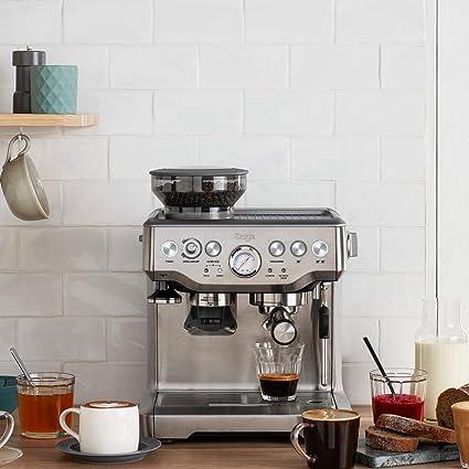 Siebträgermaschine mit integriertem Mahlwerk Sage Appliances Angebot