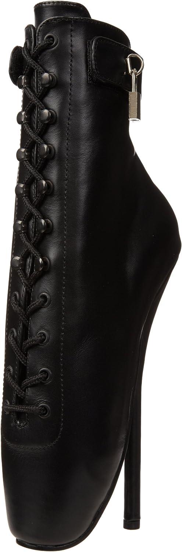 Devious BALLET-1025 Blk Leather UK 9 (EU 42)