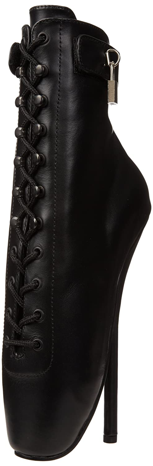 Pleaser Women's Ballet-1025 Ankle Boot B000XUI7XE 15 B(M) US|Black Leather