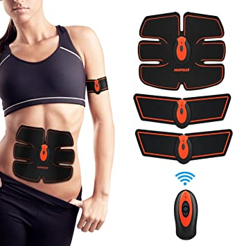 bb873f61e2a Électrostimulateur pour abdominaux hurrise électrostimulation musculaire  professionnelle abdomen Bras Jambes Waist fesses