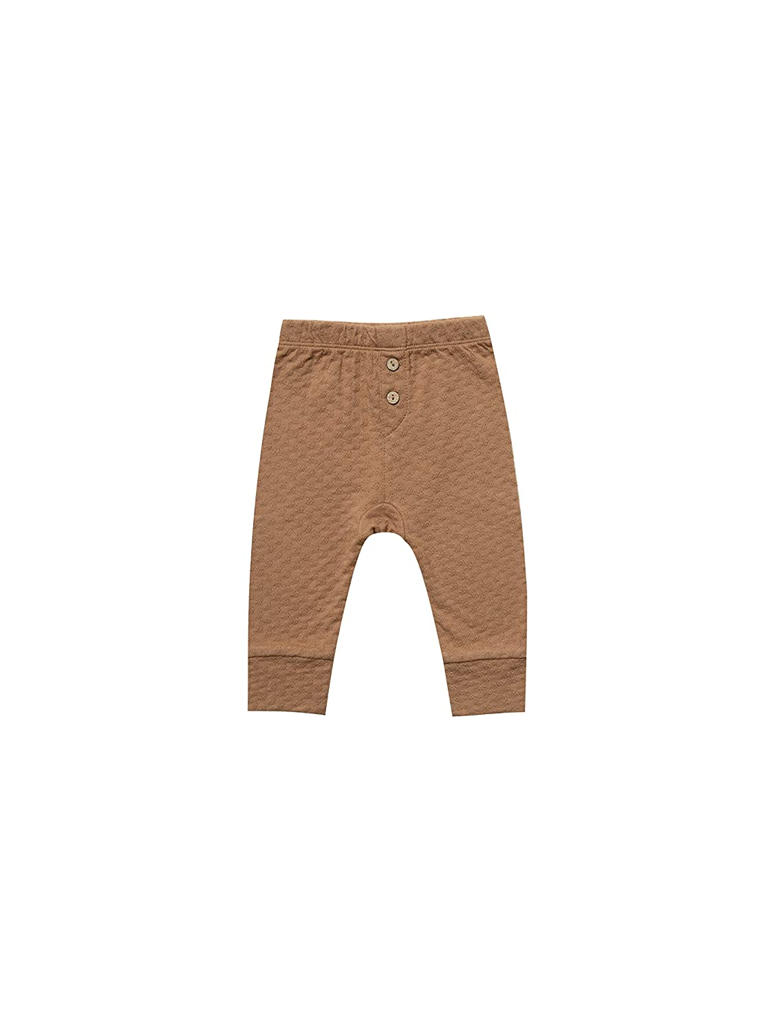 Quincy Mae Pointelle Kimono Bodysuit for Baby Boys and Girls Copper