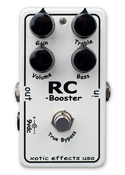 Xotic RC Booster Clean Boost Pedal