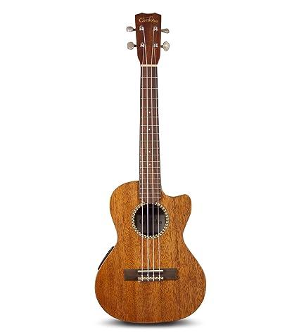 05e96c49fa8 Amazon.com  Cordoba 20TM-CE Acoustic Electric Tenor Ukulele with Gig Bag   Musical Instruments