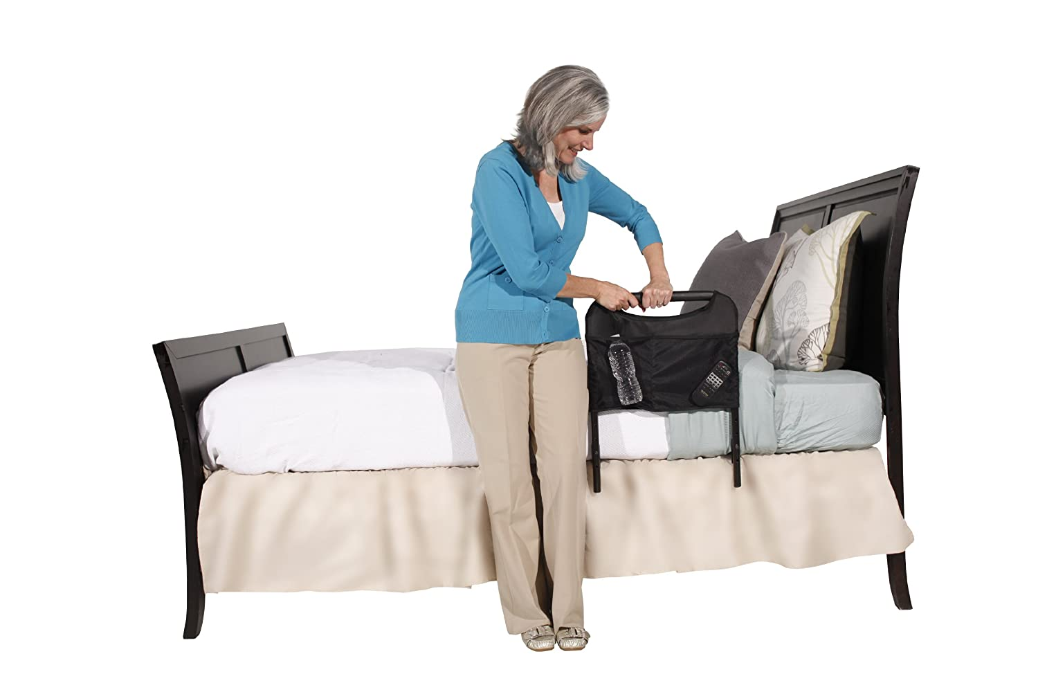 Amazon.com: Able Life Home Bedside Safety Handle - Adjustable ...