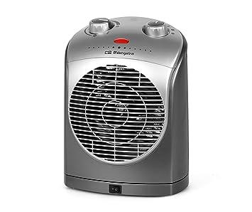 Orbegozo FH 5022 - Calefactor eléctrico compacto con movimiento oscilante, 2200 W de potencia, 2 niveles de funcionamiento y modo ventilador: Amazon.es: ...
