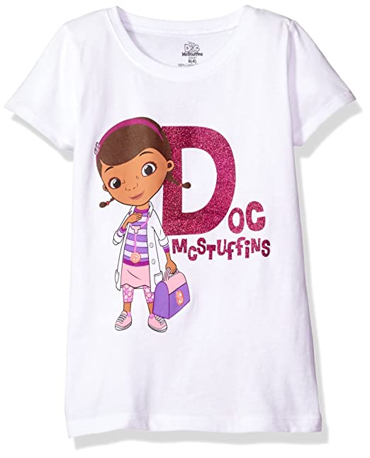 7106dfc534e8 Amazon.com  Disney Little Girls  Doc Mcstuffins T-Shirt