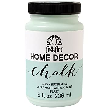 PlaidCraft Folkart Home Decor Chalk Paint 8 Oz Seaside Villa