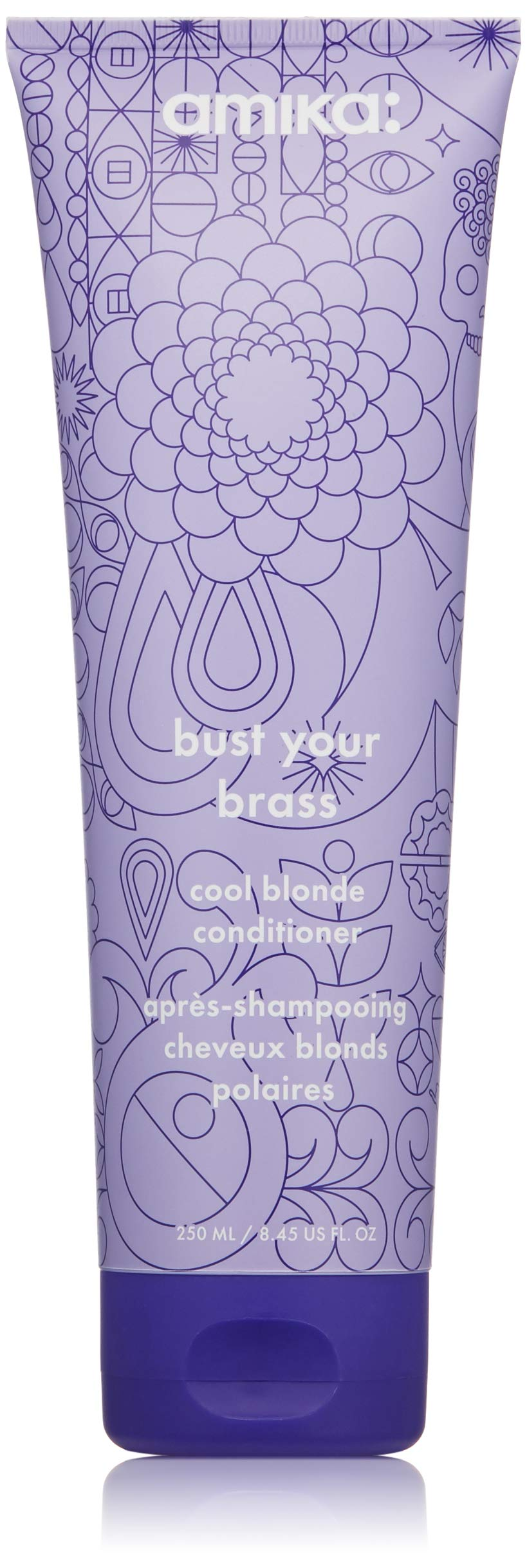 amika Bust Your Brass Cool Blonde Conditioner, 8.5 oz
