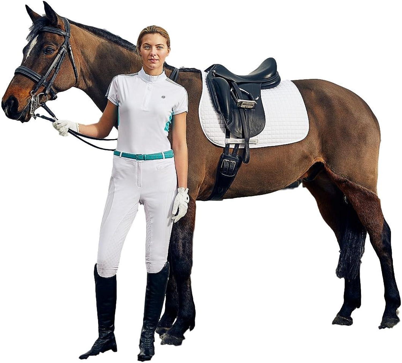Dublin Fuller Short Sleeve Performance Top Ladies Riding Shirt