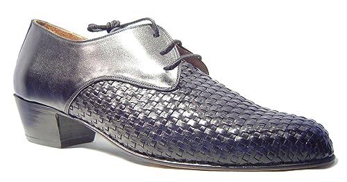 1551d0ee Zapatos De Tango Para Hombre Salsa Latino Baile - Mythique - Teucro - Talla  47: Amazon.es: Zapatos y complementos