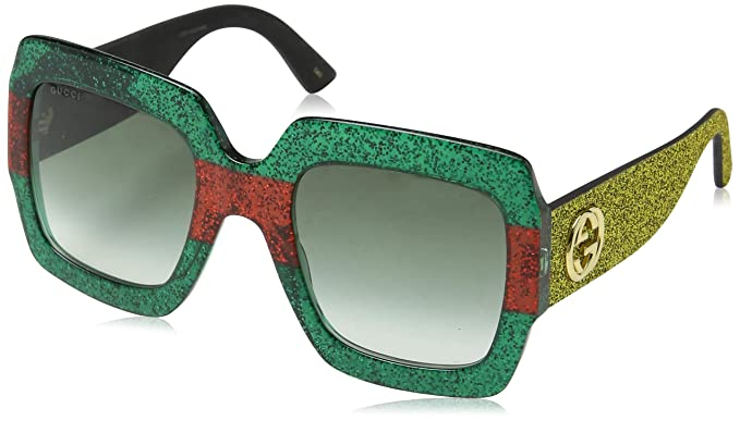 e54a642c892 Image Unavailable. Image not available for. Colour  Gucci Women s GG0102S 006  Sunglasses ...
