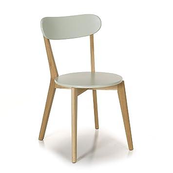 Siwa Chaise Design Scandinave Coloris Vert Amande Vert Alinea X54