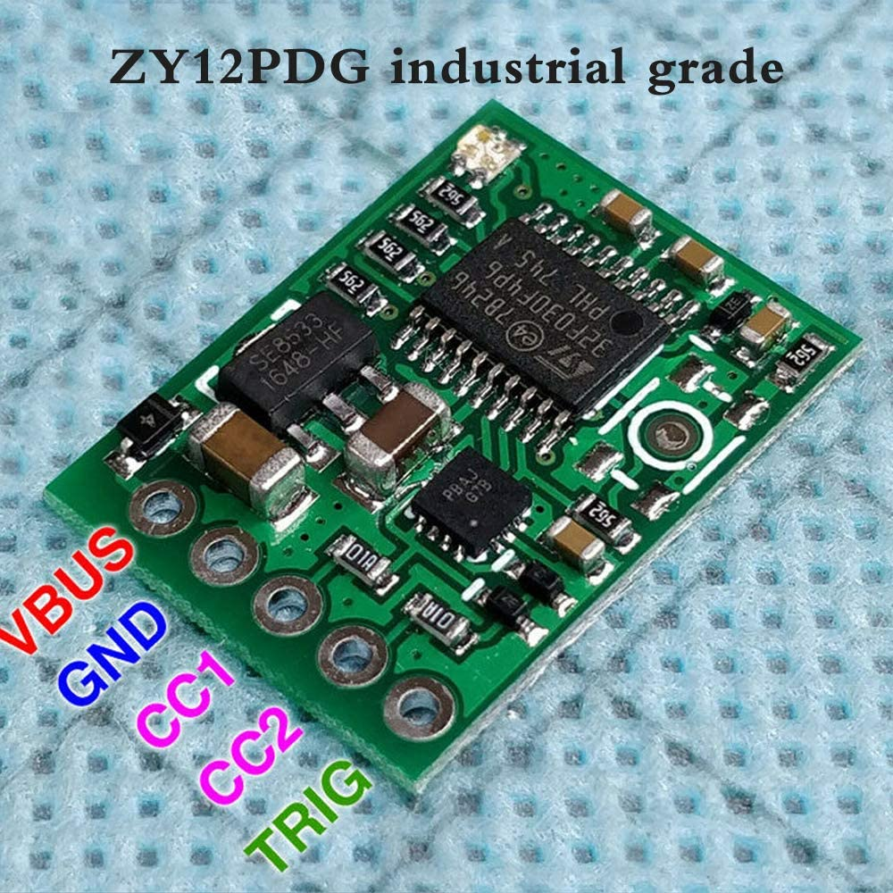 Type-C USB C Surface PD 2.0 3.0 to DC Fast Charge Trigger Poller Detector Module