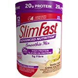 Slim Fast Advanced Nutrition, Meal Replacement or Weight Loss Shake, 20g High Protein Smoothie Powder, Vanilla Cream, Gluten
